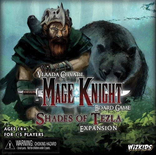 Mage Knight: Shades of Tezla by WizKids 2015 version
