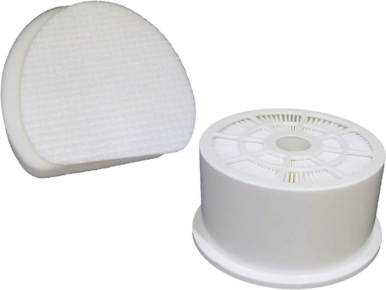 2 Foam /& Felt Filters for Shark Rotator Professional Vacuum NV400 NV402 XFF400