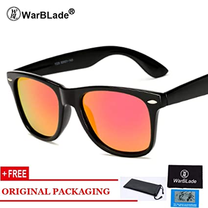 10e138780f Image Unavailable. Image not available for. Color  2018 Sunglasses Men  Polarized Driving Mirror Coating Points Black Frame Eyewear Male Sun Glasses  UV400