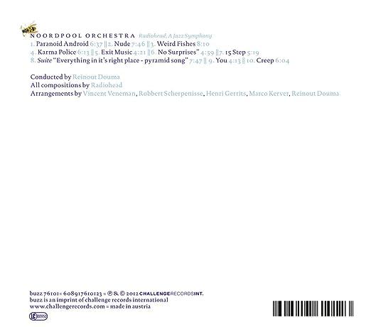 Noordpool Orchestra - Radiohead: A Jazz Symphony - Amazon.com Music