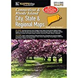 Connecticut & Rhode Island City, State, & Regional Maps