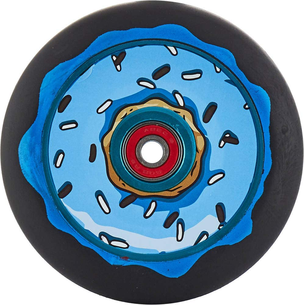 Fantic26 Sticker Chubby Wheels Co Oreo Melocore Stunt Scooter Rolle 110mm wei/ß//PU schwarz