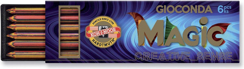 Koh-i-noor 6 Minas (1 Tubo) 5.6mm  Multicolor
