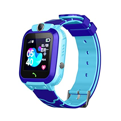 Amazon.com: LAYOPO Kids GPS Tracker Watch, Kids Smart Watch ...
