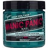Mermaid Blue Manic Panic Vegan 4 Oz Hair Dye Color