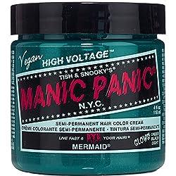 Mermaid Blue Manic Panic Vegan 4 Oz Hair Dye Color by MyPartyShirt