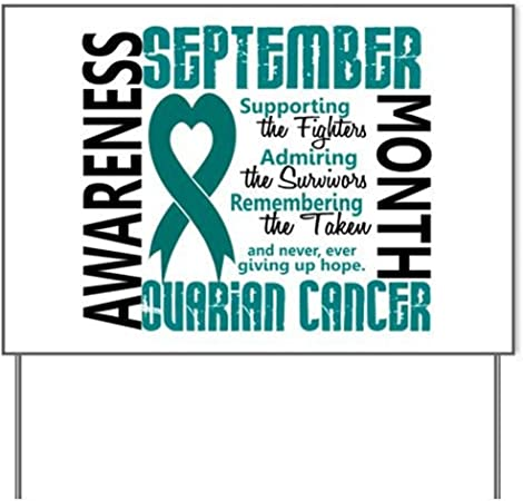 Amazon Com Ovarian Cancer Awareness Month Yard Signyard Sign Vinyl Lawn Sign Political Election Sign Garden Outdoor