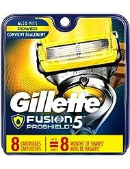 Gillette Fusion ProShield Men's Razor Blade Refills,...