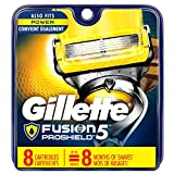 Beauty : Gillette Fusion ProShield Men's Razor Blade Refills, 8 Count, Mens Razors / Blades