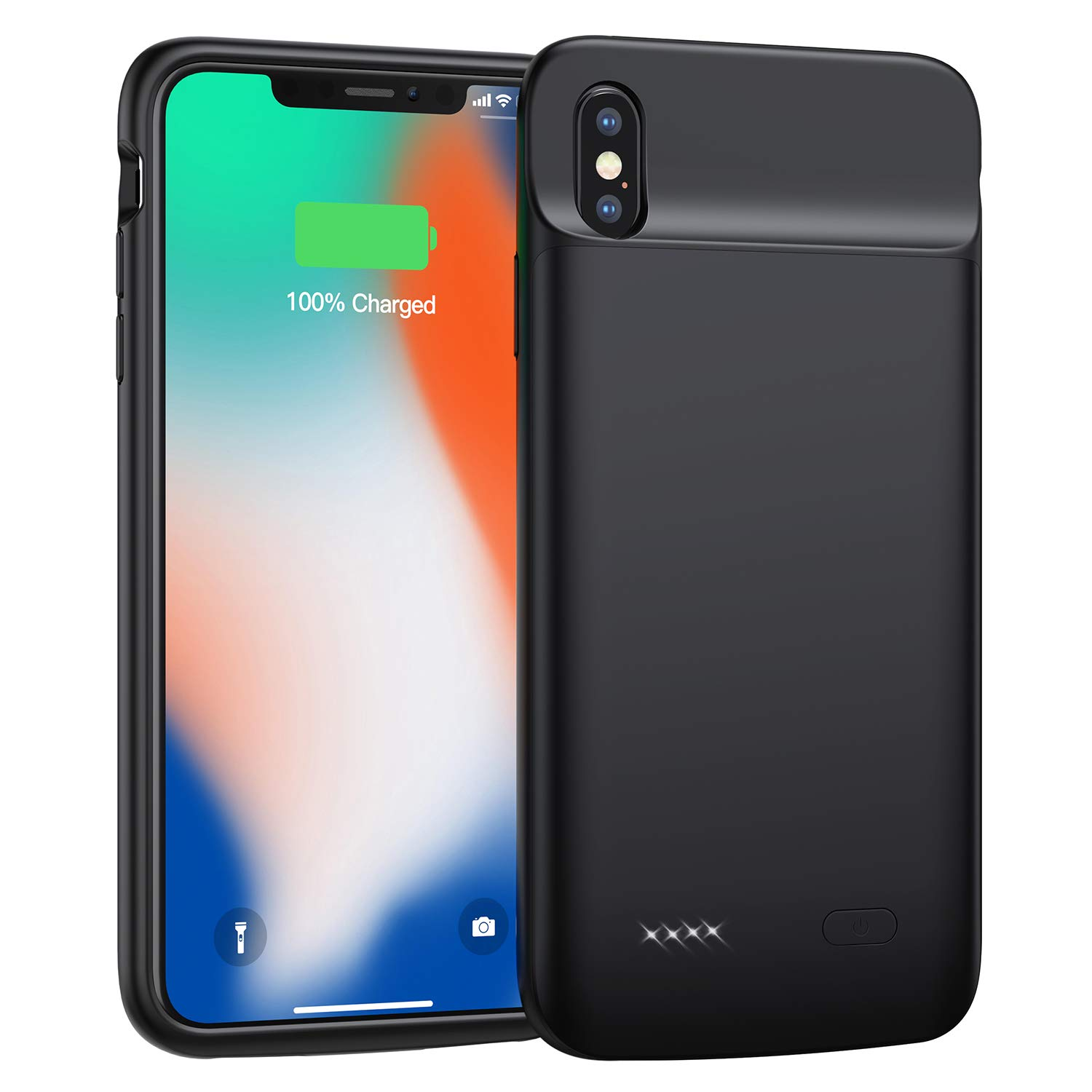 Funda Con Bateria de 4100mah para Apple Iphone X/Xs SWALLER [7VGJDGKZ]
