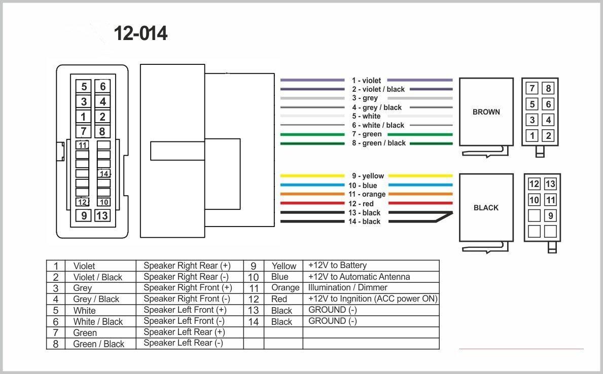 autostereo 12–014estándar iso Radio de arnés para hyundaicar Radio Estéreo Cable Adaptador ISO 2004+ Kia 2004+ Autostereo TECH
