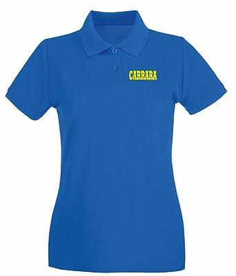 T-Shirtshock - Polo para mujer WC0984 CARRARA ITALIA CITTA STEMMA ...