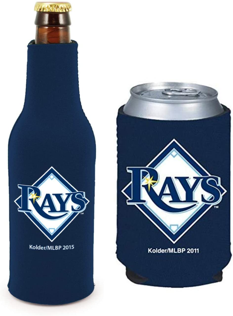 MLB Baseball Can /& Bottle Holder Insulator Beverage Cooler