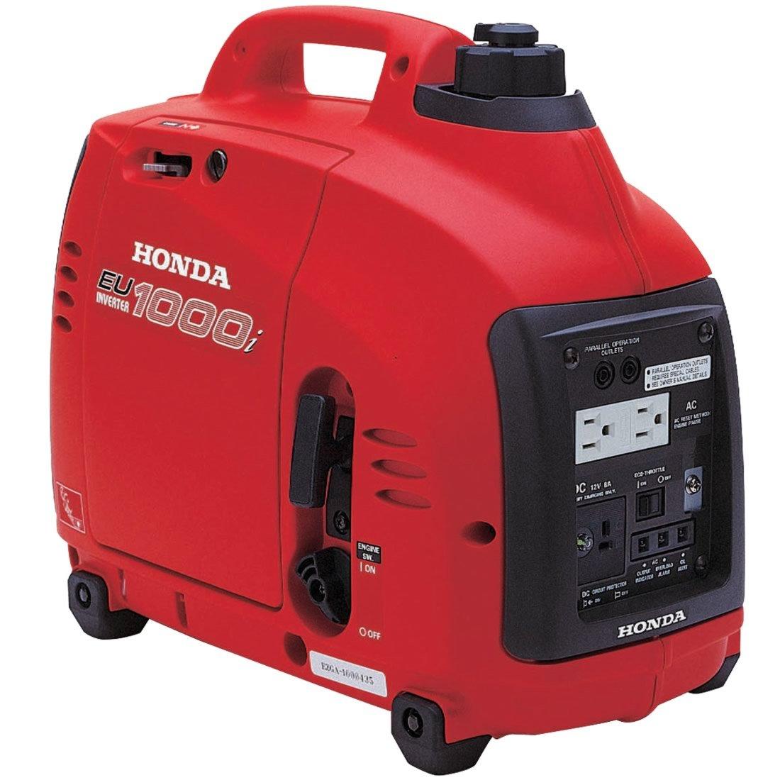 Amazon.com : Honda Super Quiet Gasoline Portable Generator with Inverter  (1000Watt with Eco-Throttle and Oil Alert) : Garden & Outdoor