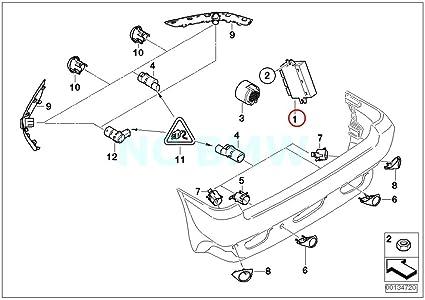 Amazon Com Bmw Genuine Active Pdc Control Unit Automotive