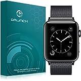Dalinch Apple Watch 42mm バンド Apple Watch 44mm バンド ステンレスバンド 高級感なステンレス ビジネスに向け 交換バンド 装着簡単 Apple Watch Series 4/3/2//1対応(ブラック)