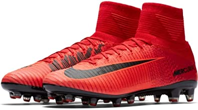 fe7c153175f Image Unavailable. Image not available for. Color  NIKE Mercurial Superfly  V DF AG-Pro Mens Soccer Shoes 831955-616 ...