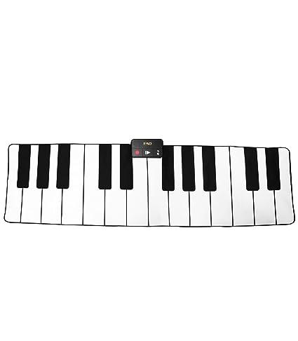 Amazon Com Fao Premium Piano Dance Mat 69x31 Inch Fun Musical
