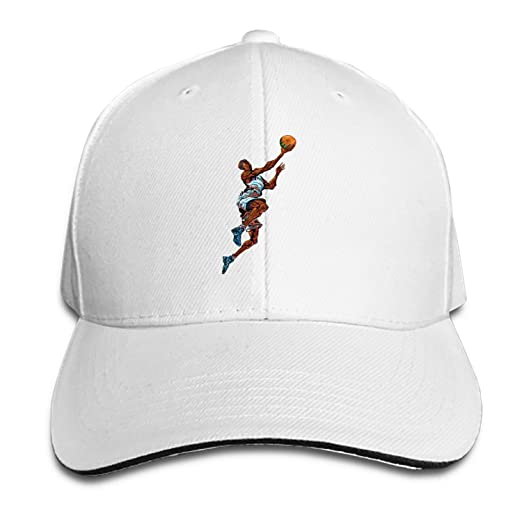 63cd7ae5520 Customized Unisex Basketball Player Trucker Baseball Cap Adjustable Peaked  Sandwich Hat