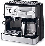 De'Longhi Combi Espresso and Filter Coffee Machine - Silver, Bco 420