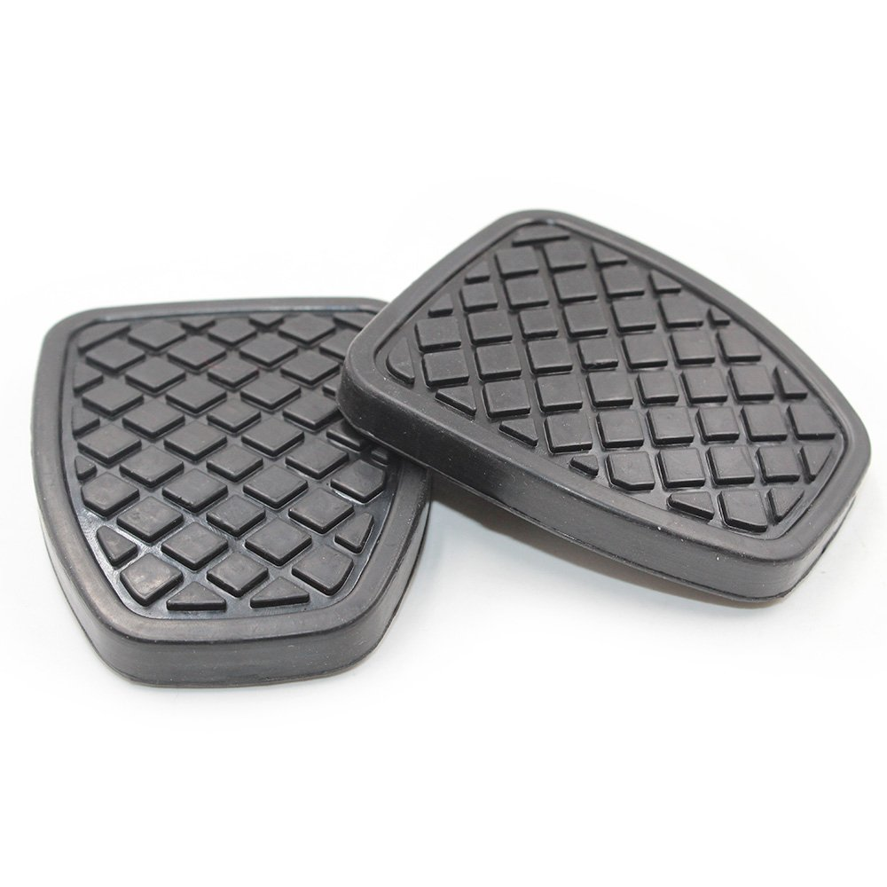 Hotwin 2 PCS Clutch /& Brake Pedal Pad Rubber Cover Compatible with Subaru Forester MT
