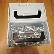 Bosch Sortimo L BOXX Mini | 6er Set in grau | Je 3 Deckel