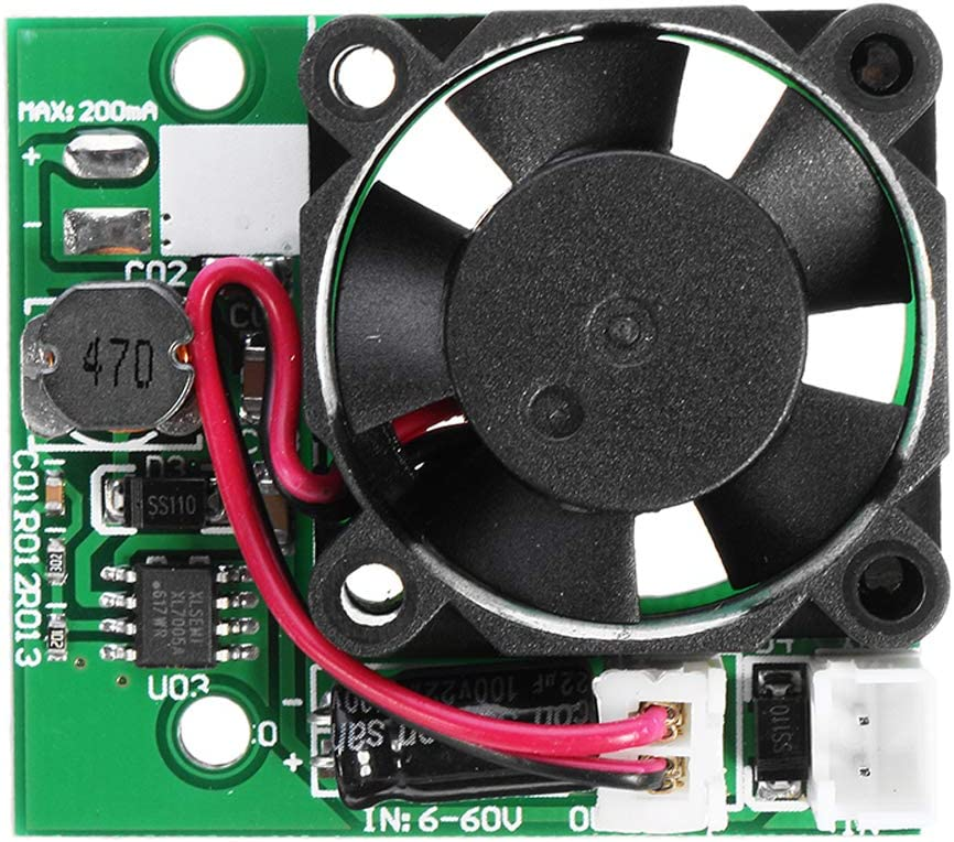 ILS 3 Pieces DC 6-60V CNC Power Supply Dedicated 3cm Fan System Module