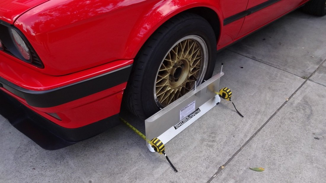 Camber//Caster//Toe Plates Tenhulzen Auto 3300 2-Wheel Alignment System All-in-one Tool