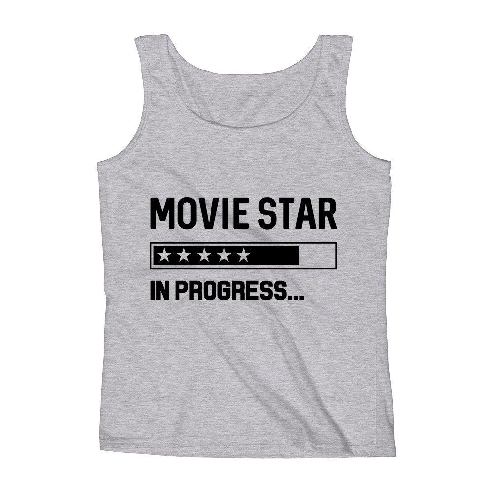 Mad Over Shirts Movie Star in Progress Unisex Premium Tank Top