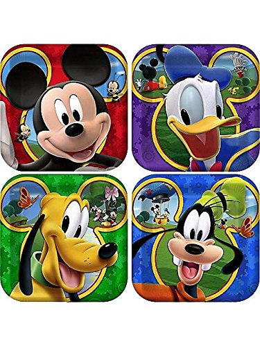 [Mickey Mouse 'Playtime' Small Paper Plates (8ct)] (Mickey Mouse Clubhouse Plates)