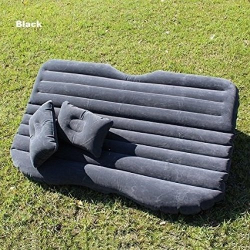 FBSPORT Ablevel Car Travel Inflatable Mattress Air Bed Camping Universal Suv Back Seat Couch (Black) from FBSPORT