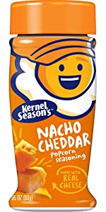 Kernel Season's, Popcorn Seasoning, Nacho Cheddar, 2.85 Ounce (Pack of 1)