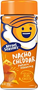 Kernel Season's Popcorn Seasoning, Nacho Cheddar, 2.85 Ounce Shakers (Pack of 6)