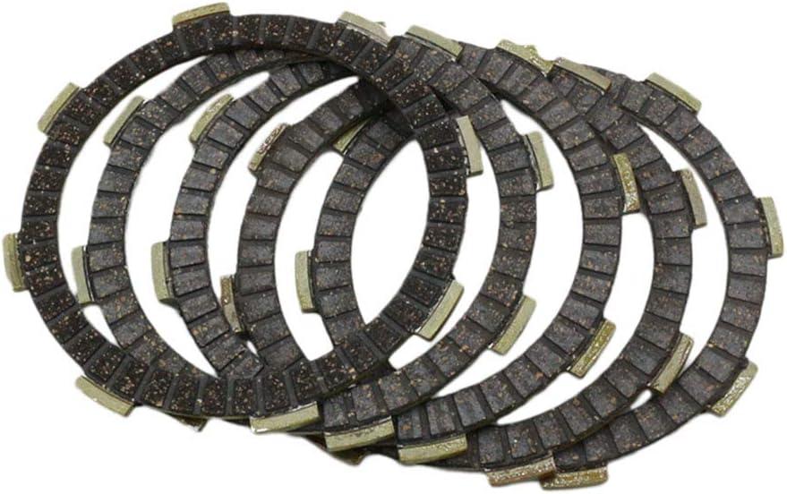 Shiwaki Jeu De 5 Disques De Friction dembrayage /à Usage Intensif pour CG125 CG 125