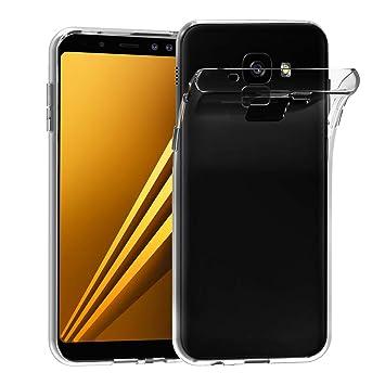 iVoler Funda Carcasa Gel Transparente Compatible con Samsung Galaxy A8 2018, Ultra Fina 0,33mm, Silicona TPU de Alta Resistencia y Flexibilidad