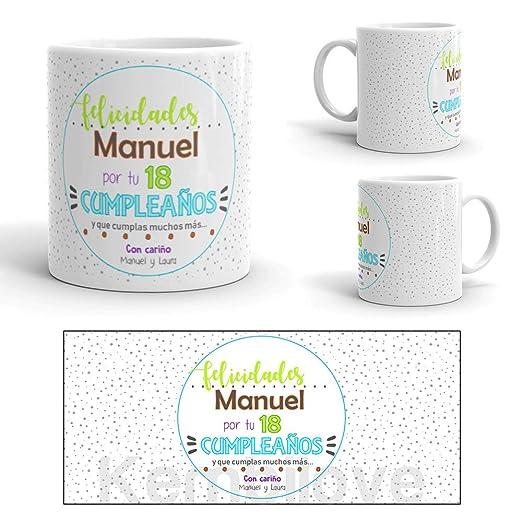 Kembilove Taza de Café Cumpleaños – Taza de Desayuno con Frase Personalizada para Aniversario – Taza de Café y Té para Amigos – Taza de Cerámica ...