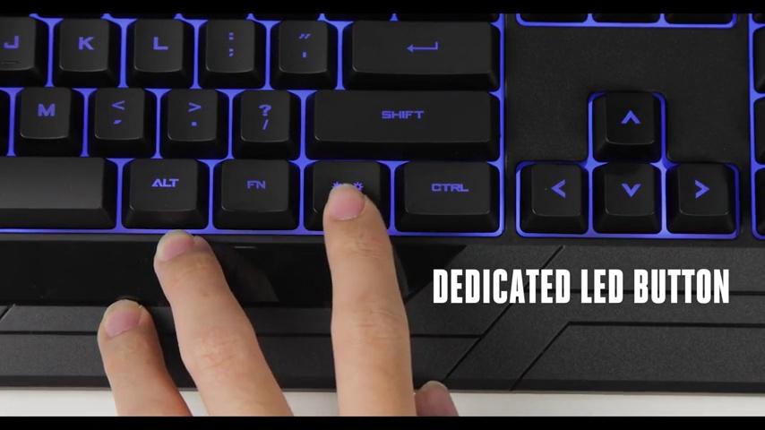 Cooler Master Devastator 3 Gaming Keyboard /& Mouse Combo 7 Color Mode LED Backl