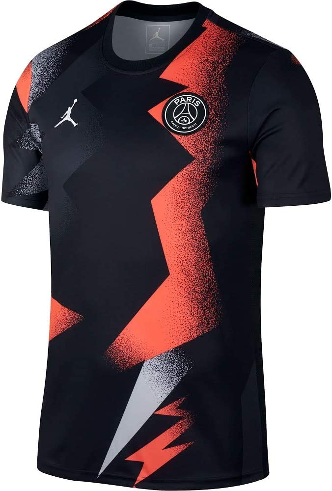Nike 2019-2020 PSG Pre-Match Training Football Soccer T-Shirt ...