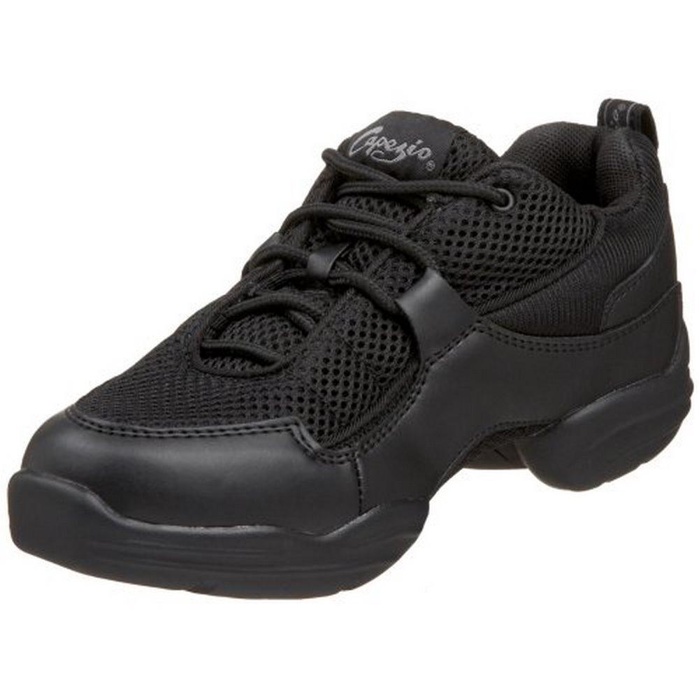 Capezio Fierce DS11C Dance Sneaker (Little Kid/Big Kid),Black,13 M US Little Kid