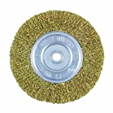 Task Tools T25647 1/2-Inch to 5/8-Inch Fine Crimp Wire Wheel with 6-Inch Diameter