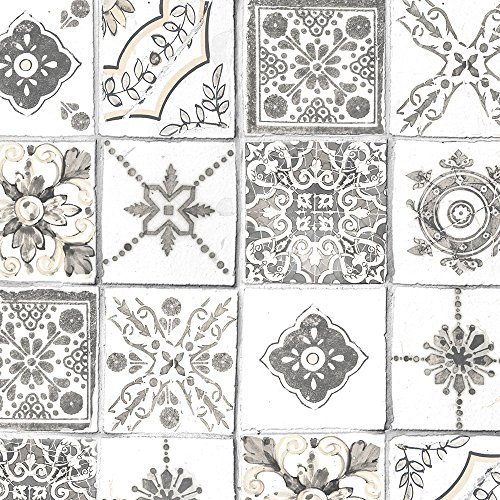 Norwall Kitchen (Norwall CK36620 Morrocan Tiles Bolt Wallpaper)