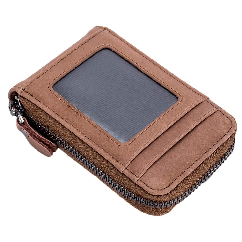 Golunski SR 917 RFID Leather Credit card ID Holder With Press Stud Fastening