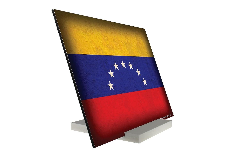 Soporte Fotografias Viaje Por El Mundo Bandera de Venezuela Letrero: Amazon.es: Hogar