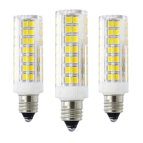 6 W E11 LED, intensidad regulable T3/T4 bombilla, 60 W bombillas halógenas