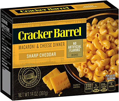 Cracker Barrel Macaroni Cheese Cheddar