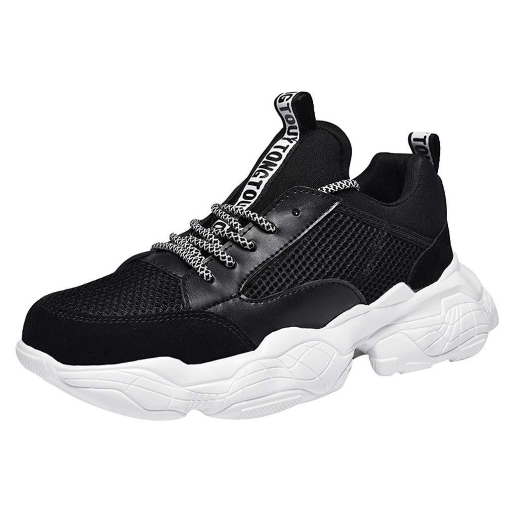 Fenverk Herren Fitness Laufschuhe Atmungsaktiv rutschfeste Mode Sneaker Sportschuhe 39-44