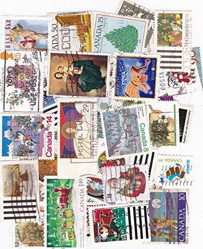 Canada Postage Stamps - 35 Stamps