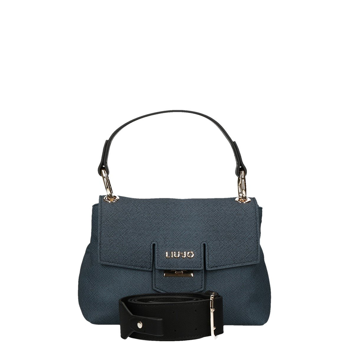 Borsa cartella Liu Jo piccola marseille furdenim dress blue