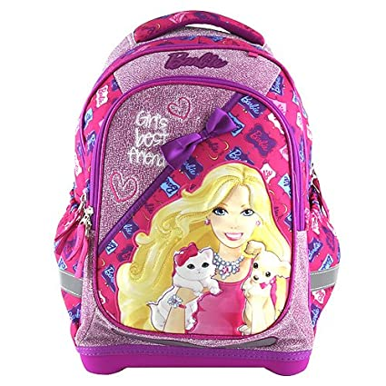 Target Barbie GirlS Best Friend Backpack Mochila Escolar, 45 cm, Rosa (Pink)