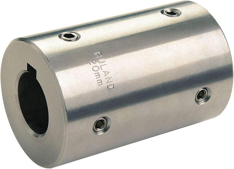 Inch 44 lb-in Nominal Torque 5//16 Bore A Diameter 1//4 Bore B Diameter 1 OD 1-1//4 Length Ruland Manufacturing B0060LUHXI 5//16 Bore A Diameter Polished Aluminum Ruland PSR16-5-4-A Set Screw Beam Coupling 1-1//4 Length 1 OD 1//4 Bore B Diameter